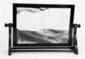 Obrazek W-050: Obrazek piaskowy oprawiony w ramę drewnianą (40x59 cm)