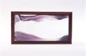 Obrazek W-060: Obrazek piaskowy oprawiony w ramę drewnianą (19x36 cm)